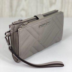 ❤️Michael Kors Large DoubleZip Wallet Wristlet
